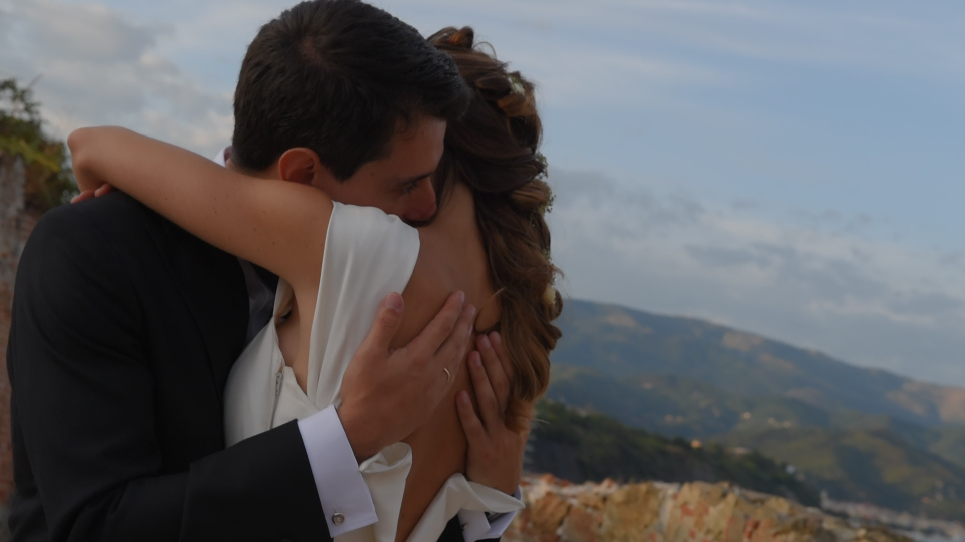 Foto sposi, colore naturale, wedding